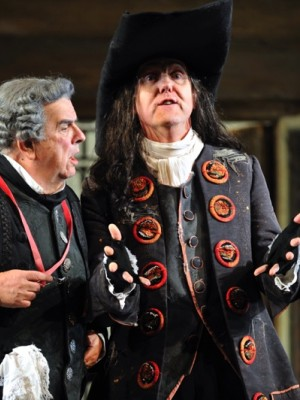 As Don Basilio In Barber Of Seville