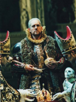 As King Phillip In Don Carlos